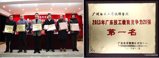 2013年技校排名第一