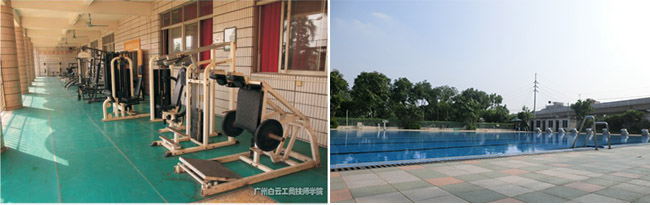 健身房和游泳池
