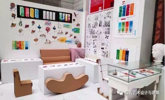艺术与建筑系学生作品展示