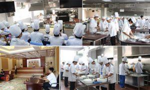 广州白云工商高级技工学校旅游与酒店管理实训