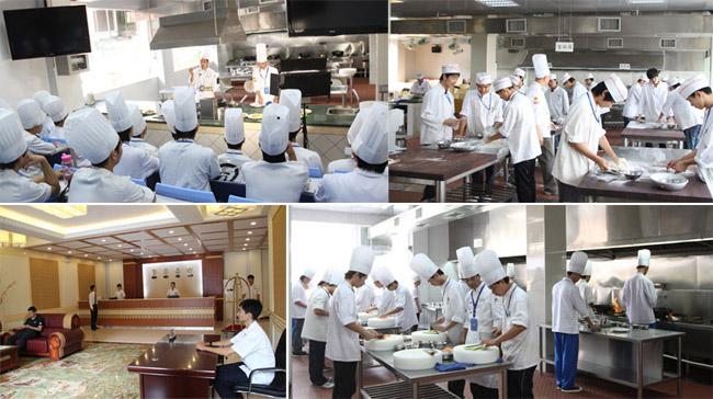 广州市白云工商技师学院旅游与酒店管理实训