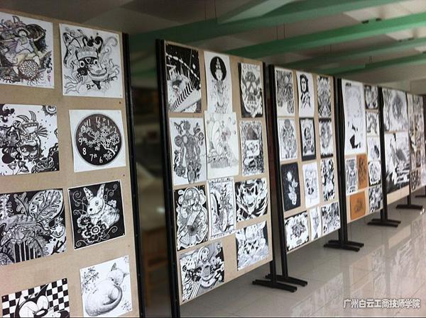 广州白云工商高级技工学校艺术系学生作品展