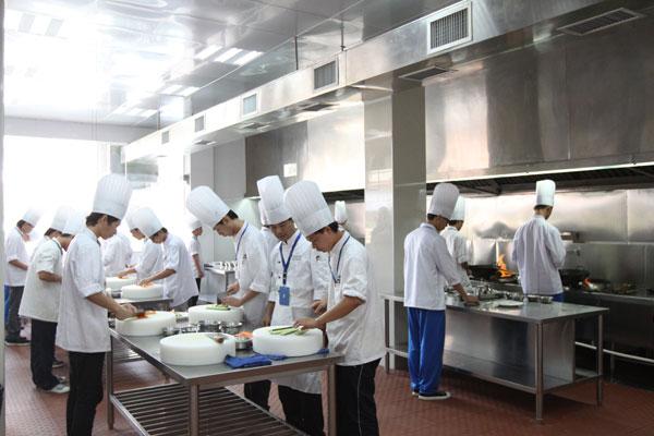 广州市白云工商技师学院旅游与酒店管理系学生工作服