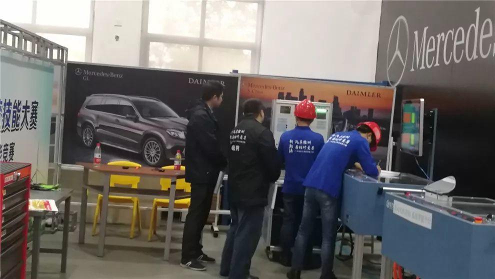 """我院在""""新能源汽车检测与维修项目""""省赛中传捷报"""